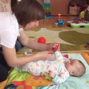 3 mėn. kūdikio raida