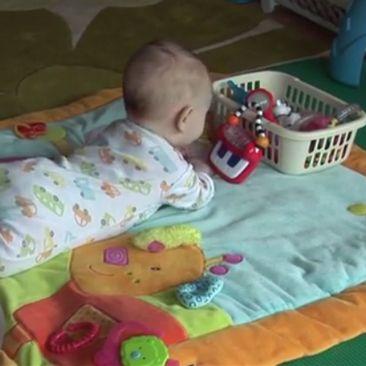 4 mėn. kūdikio raida