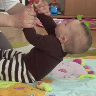 5 mėn. kūdikio raida